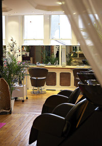 seating in the salon area