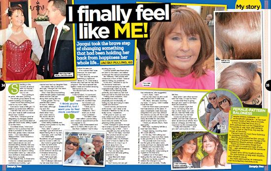 Simply You article about Jacqui