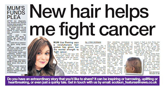 Sun article about Lisa Fleming
